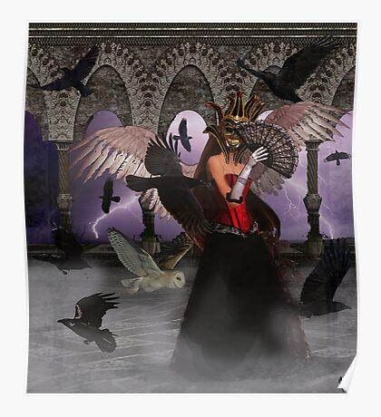Masked Raven, Secret Wisdom Poster
