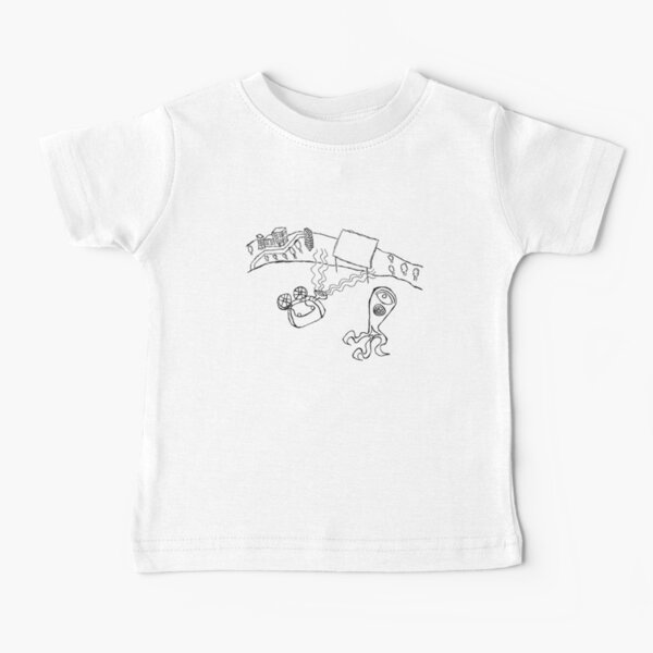 Alien Movie Projector Baby T-Shirt