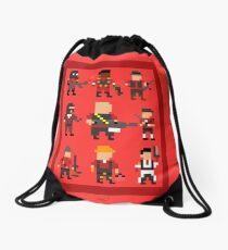 Team Fortress 2 8-Bit Red Team Drawstring Bag