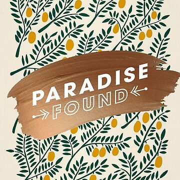 Paradise Found – Yellow Palette by catcoq