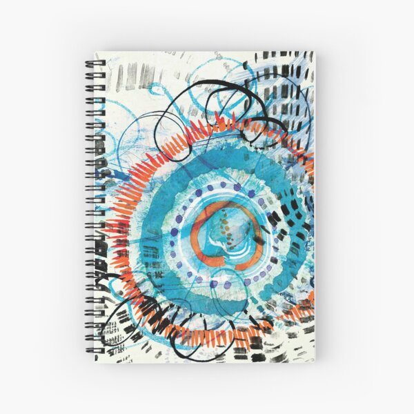 jellyfish dreams Spiral Notebook