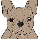 Tan French Bulldog  by rmcbuckeye