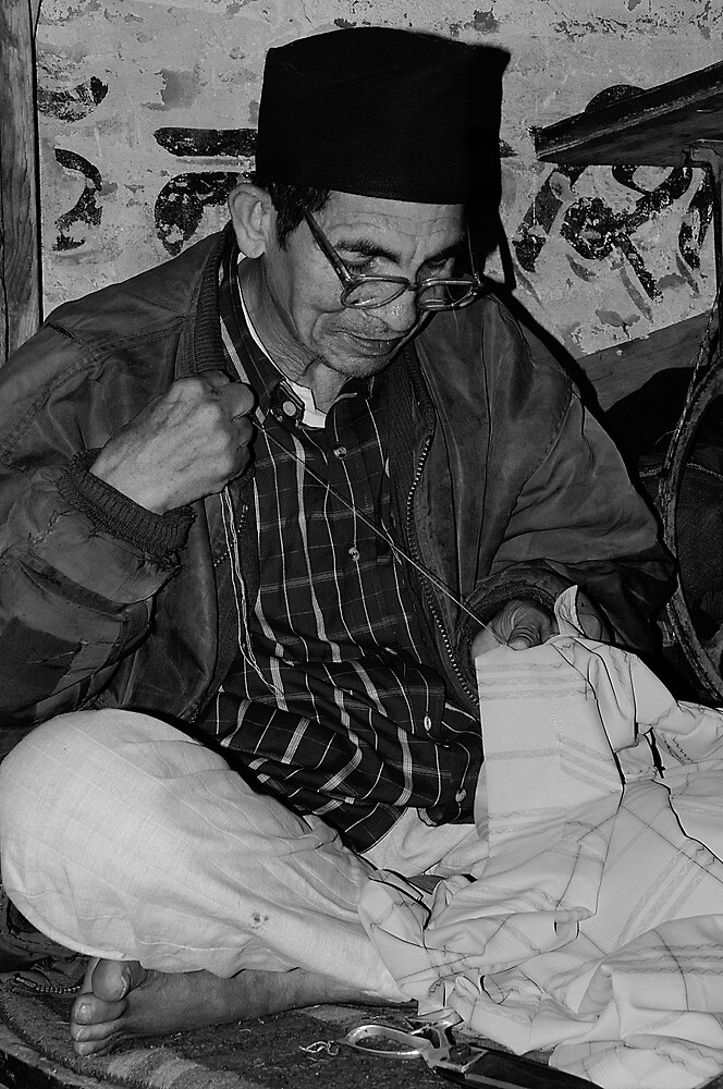 The Tailor of Garhwal, India by Mukesh Srivastava