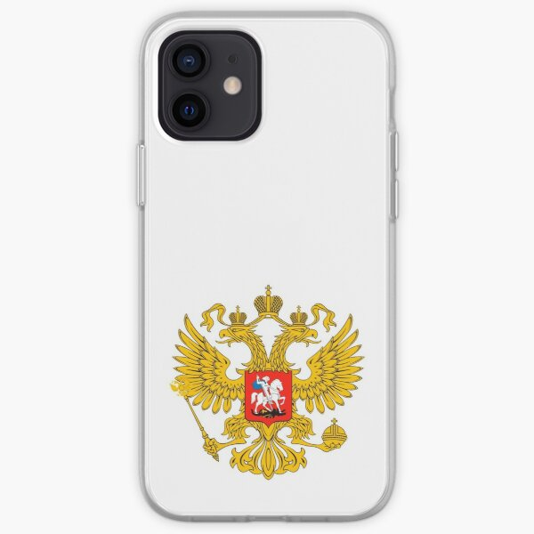 Coat of arms of Russia Russian iPhone Soft Case