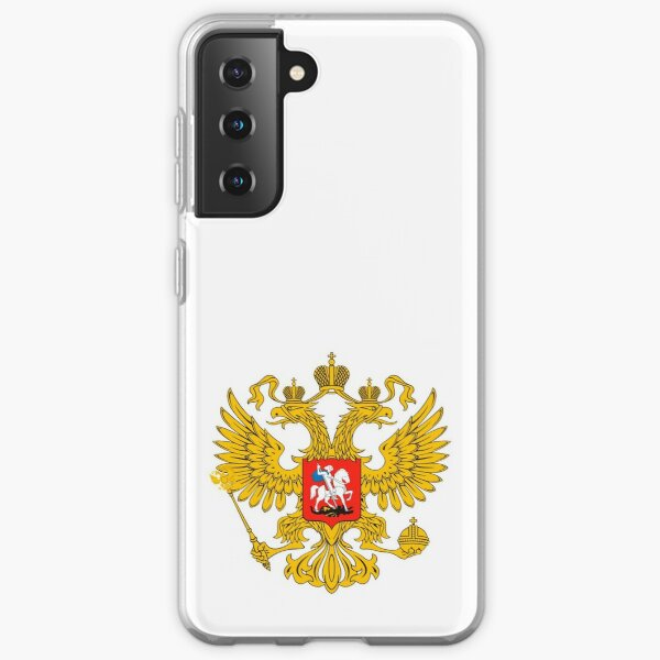 Coat of arms of Russia Russian Samsung Galaxy Soft Case