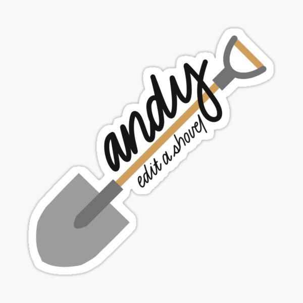 andy, edita una pala | kian y jc (verifique la descripción / mi cartera para ver todas las versiones de este diseño y también más diseños de knj) Pegatina