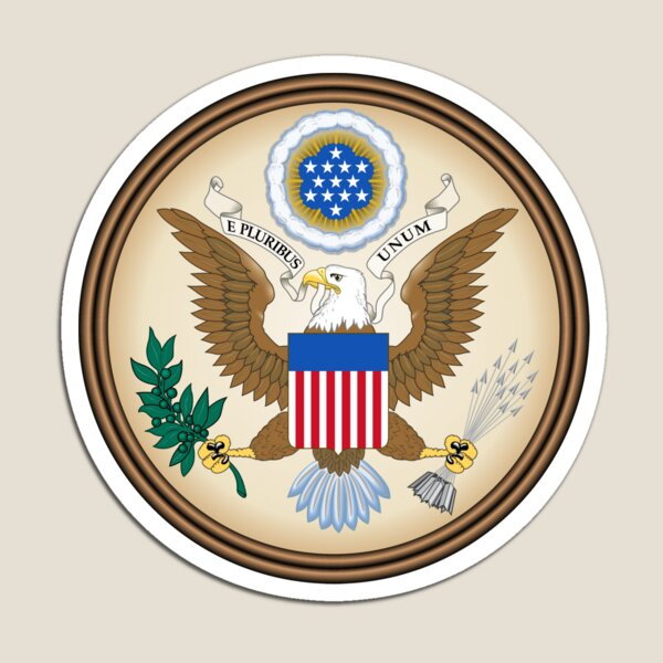 Print, Great Seal of the United States Magnet