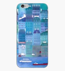 Paris Blues iPhone Case
