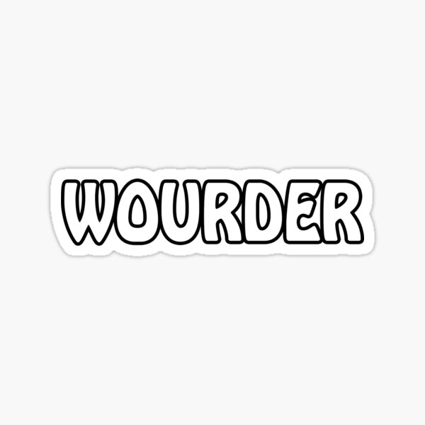 Wourder Sticker