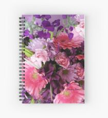 A Passion for Pink and Purple Spiral Notebook