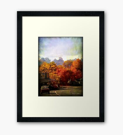 Nature's peace Framed Print