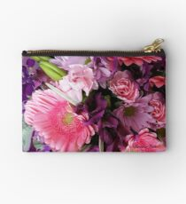 A Passion for Pink and Purple Zipper Pouch