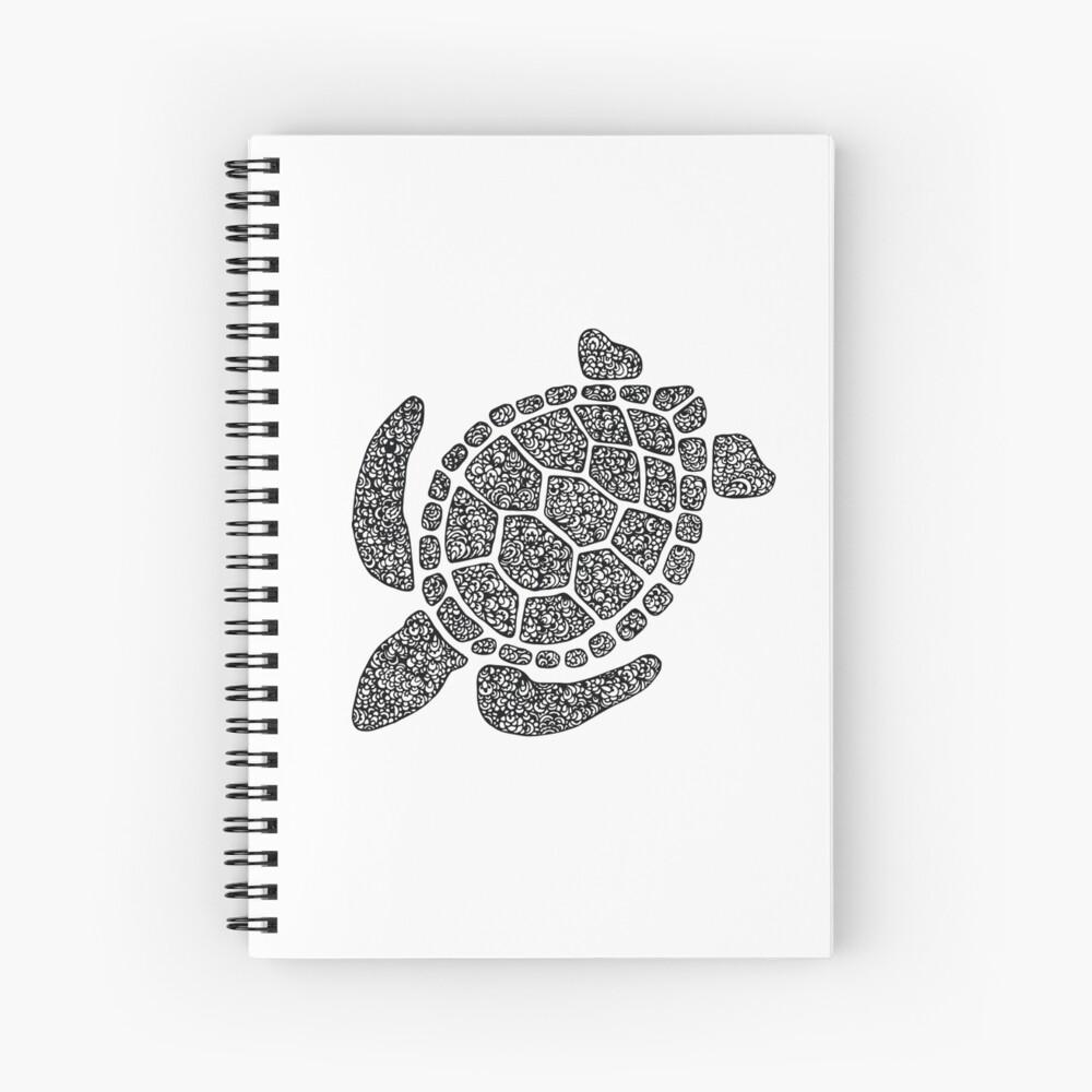 Tortuga Cuaderno de espiral
