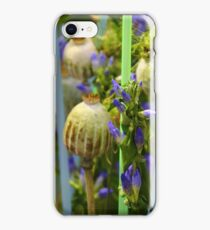 Poppy Seed Capsules iPhone Case/Skin
