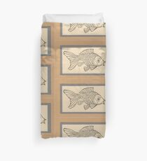 The Carp Duvet Cover