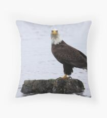 Watcher on the Water Throw Pillow