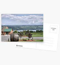 Glenora Wine Cellars Postcards