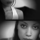 self portrait IV - in which the model takes a self-portrait by Rebecca Tun