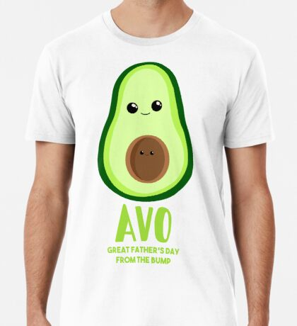 Avocado - Father's Day from the BUMP - Funny - Puns Premium T-Shirt
