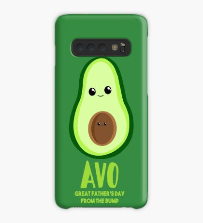 Avocado - Father's Day from the BUMP Shirt Gifts - Funny - Puns - Case/Skin for Samsung Galaxy