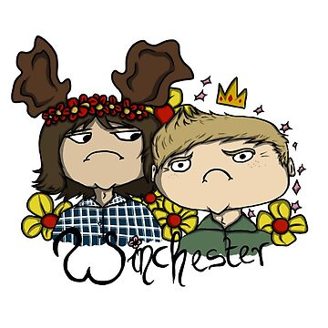 Winchesters by wachtelralle