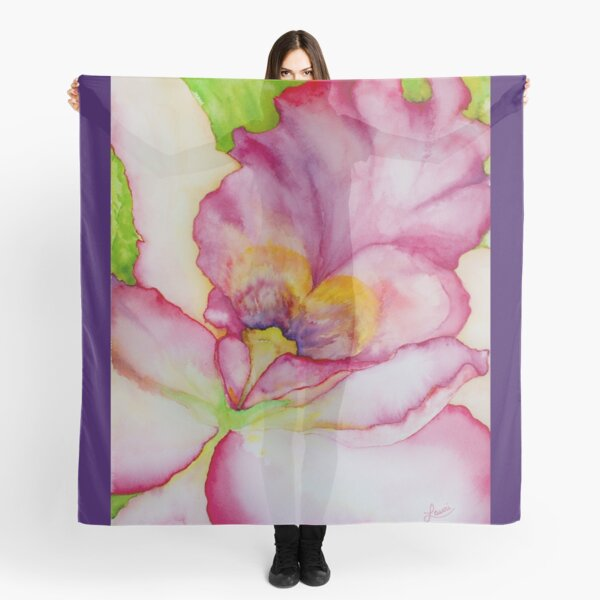 Inside the Iris Scarf