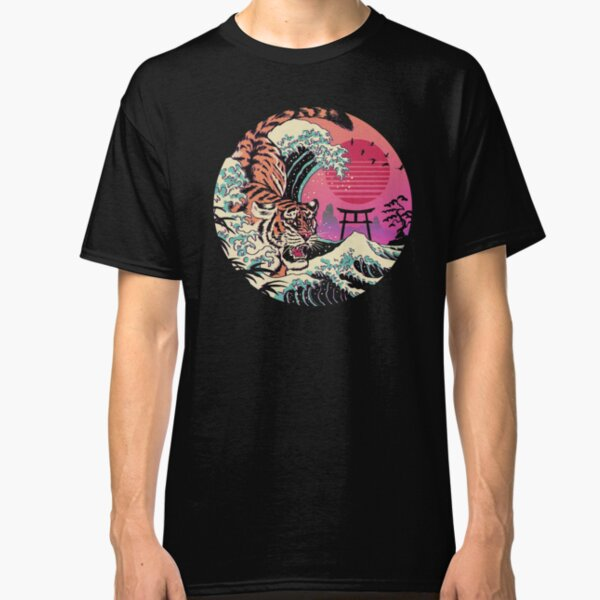 Rad Tiger Wave Classic T-Shirt