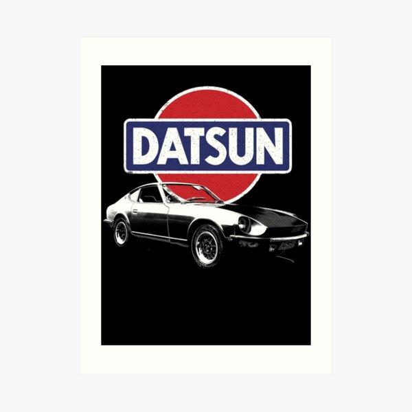 Datsun 240z Sandy Bay Art Print
