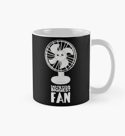 Funny Fathers Day Shirt - Dad I'm your Biggest Fan  - Birthdaay Mug