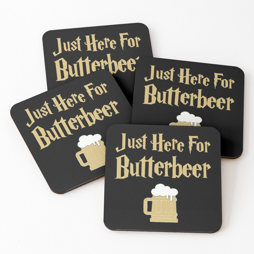Just here Coasters (Set of 4)