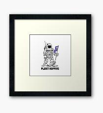 planet hoppers Framed Print