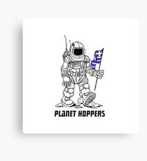 planet hoppers Canvas Print