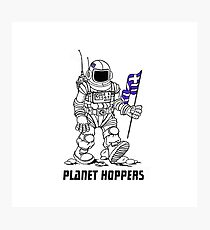 planet hoppers Photographic Print
