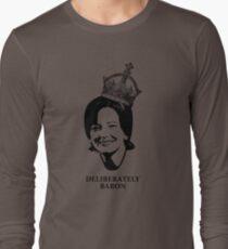 Deliberately Baron BW Long Sleeve T-Shirt