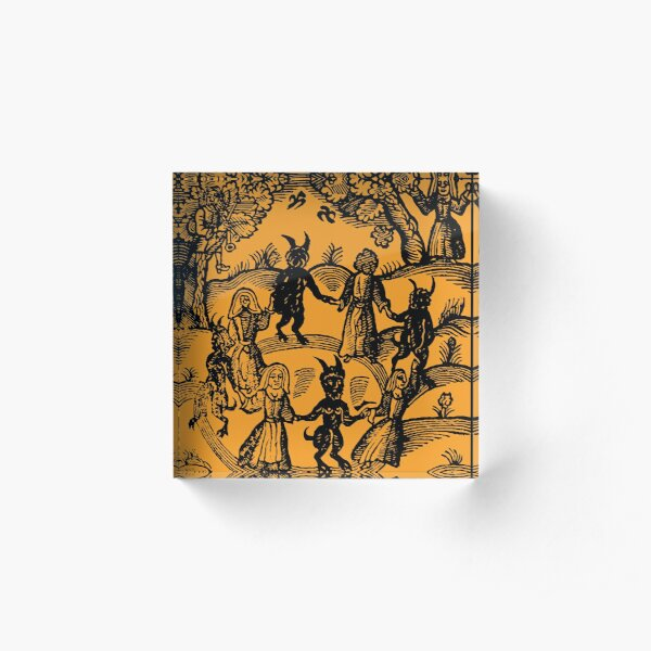 Dance with the Devil  Acrylic Block