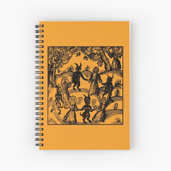 Dance with the Devil  Spiral Notebook