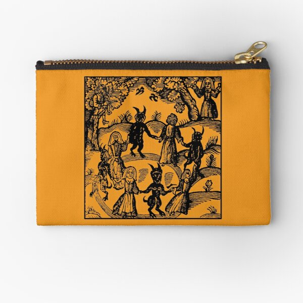 Dance with the Devil  Zipper Pouch