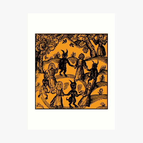 Dance with the Devil  Art Print