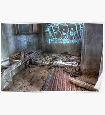 As I Lay Me Down To Sleep....Abandoned Mental Asylum, Wacol Brisbane, Poster