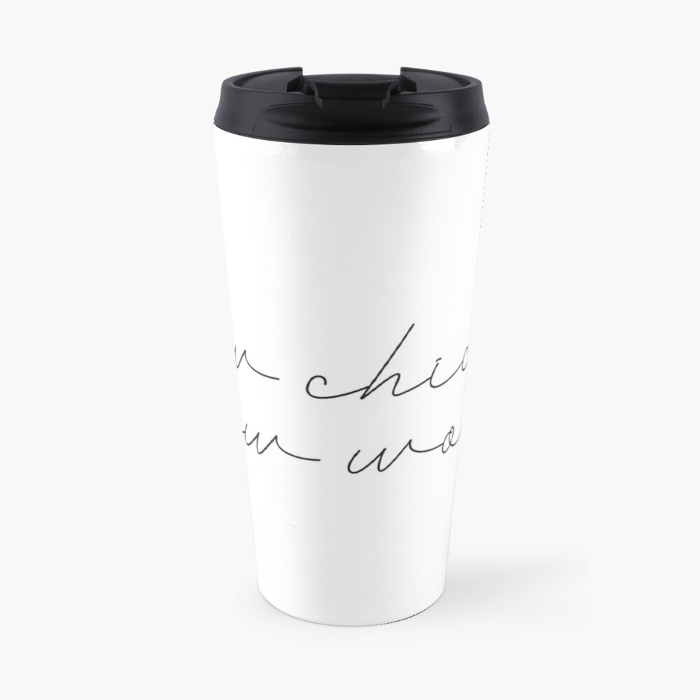 Bow Chicka Bow Wow Travel Mug