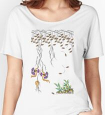 Vibrant Spring Floral Women's Relaxed Fit T-Shirt
