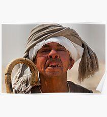 Toothless Egyptian midget man Poster