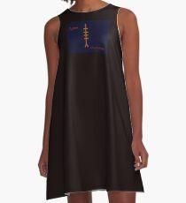 Ogham Aspen A-Linien Kleid