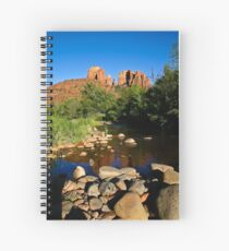 Cathedral Rock & Oak Creek Spiral Notebook