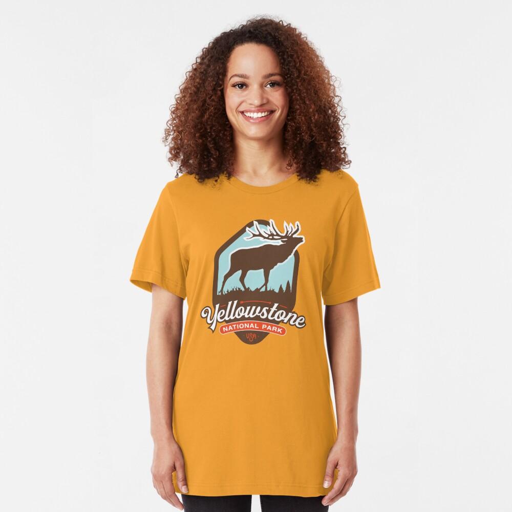 Yellowstone National Park Slim Fit T-Shirt