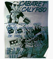 Cabaret Calypso poster at Art Unit Poster