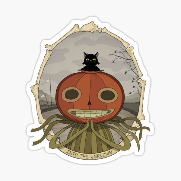 Enoch Is Inviting You Into The Unknown Sticker