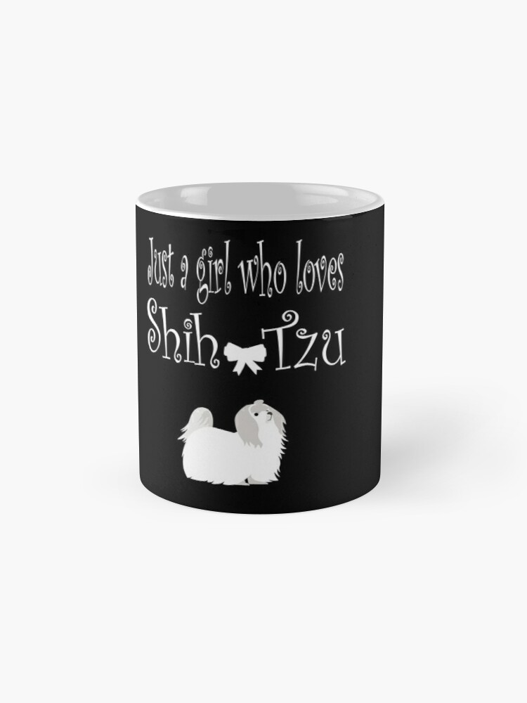 'Just a Girl Who Love Shih Tzu Dogs' Mug by Dogvills