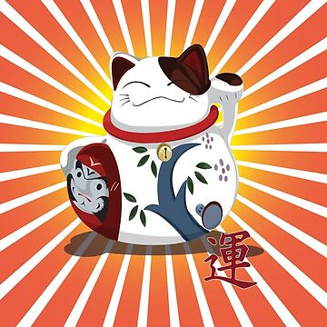 Lucky Cat Angry Man by Soulchild1979