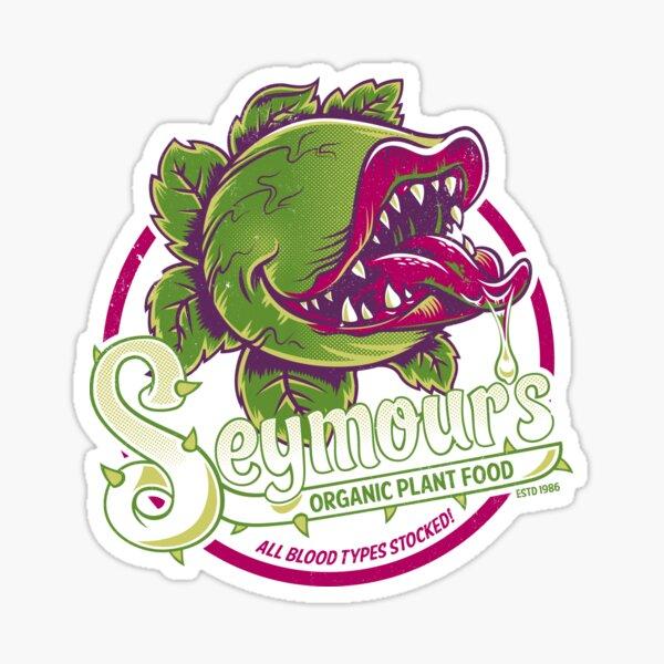 Seymour's Organic Plant Food - musical theatre - vintage - cult movie Sticker